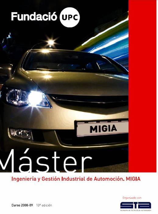 master ingenieria gestion industrial automocion