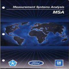 3ª edición del Measurement System Analysis Reference Manual