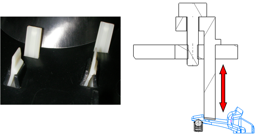 fotos de clips y funcionamiento clip abrible