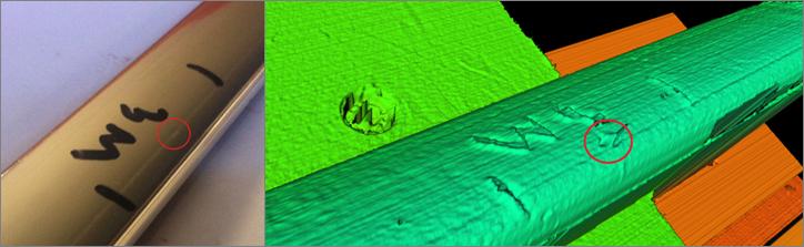 sistema 3D para la deteccion de defectos superficiales